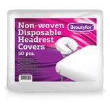 Egyszer Használatos Fejtámla Huzat Nemszőtt Anyagból - Beautyfor Non-woven Disposable Headrest Covers, 50 db