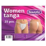 Egyszer használatos női bugyi - Beautyfor Disposable Women Tanga, 25 db