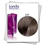 Permanens hajfesték - Londa Professional 5/07 világos gesztenye természetes barna