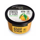 Testradír cukorral és narancs olajjal Sicilian Orange Organic Shop, 250ml