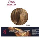 Permanens krém-hajfesték - Wella Professionals Koleston Perfect ME+ Pure Naturals, árnyalat 7/00 Természetses Középszőke