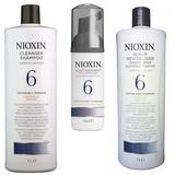Nioxin - Maxi csomag - System 6: Normál, durva hajra, erős elvékonyodás és hajhullás ellen