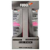 Hajápolási csomag -  DUO Fudge Colour Lock - Sampon és Hajbalzsam festett hajra, 300 ml