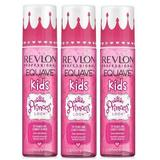 Leave-In Gyerek Hajbalzsam Csomag, 3 db. - Revlon Professional Equave Kids Detangling Conditioner Princess Look, 200ml
