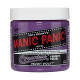 Féltartós Direkt Hajfesték - Manic Panic Cream Tones, árnyalat Velvet Violet 118 ml