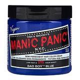 Féltartós Direkt Hajfesték - Manic Panic Classic, árnyalat Bad Boy Blue 118 ml