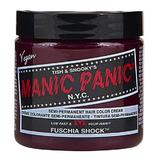 Féltartós Direkt Hajfesték - Manic Panic Classic, árnyalat Fuschia Shock 118 ml