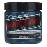 Féltartós Direkt Hajfesték - Manic Panic Classic, árnyalat Mermaid 118 ml