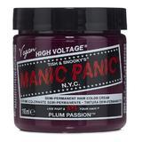 Féltartós Direkt Hajfesték - Manic Panic Classic, árnyalat Plum Passion 118 ml