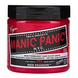 Féltartós Direkt Hajfesték - Manic Panic Classic, árnyalat Red Passion 118 ml