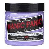 Féltartós Direkt Hajfesték - Manic Panic Classic, árnyalat Virgin Snow 118 ml