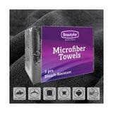 Mikroszálas Törölközők - fekete,  Beautyfor, 5 db.