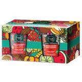 Ajándékcsomag Body Desserts - Bőrradír és Testmousse/Hab Eperrel Organic Shop