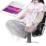 Egyszer használatos fodrász köpeny polietilénből - Beautyfor Disposable Polyethylene Peignoir, 135cm x 90cm, 50 db