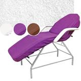 Lila pamut lepedő - Beautyfor Couch Cover, purple, 100 x 215cm