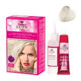 Permanens hajfesték - Kallos Glow Long Lasting Cream Hair Colour árnyalat 128 Gyöngyszőke