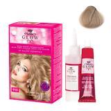 Permanens hajfesték  - Kallos Glow Long Lasting Cream Hair Colour árnyalat 910 Világos hamvasszőke