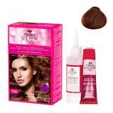 Permanens hajfesték - Kallos Glow Long Lasting Cream Hair Colour árnyalat 740 Ticián vörös
